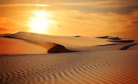 Dubai öken