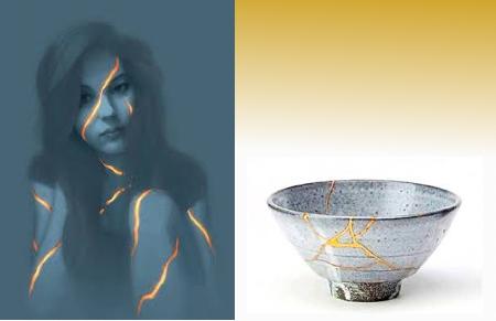 Kintsukuroi - konsten att laga keramik som gått sönder